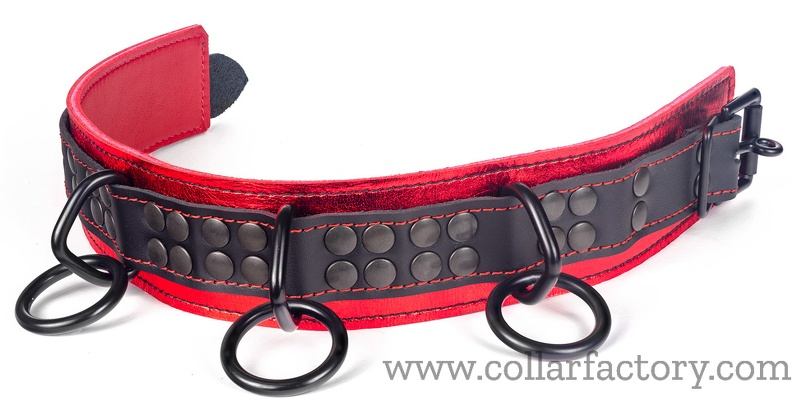 Collar with Reinforced attachments