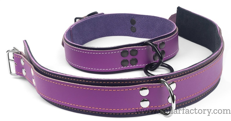lavender-leather-collars