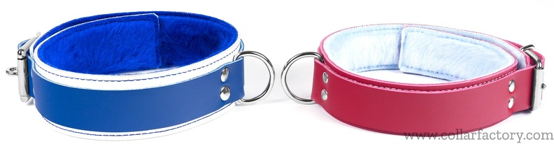 2 simple double strap collars