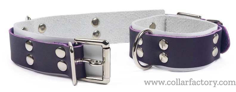 midnight purple  unlined cuffs