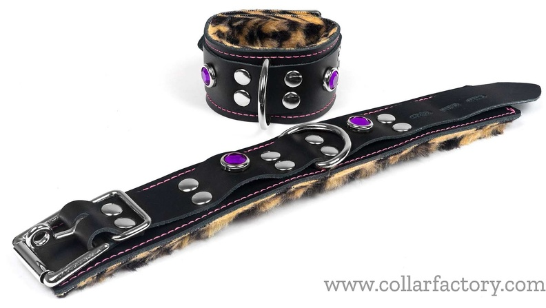 cuffs with tiger fur