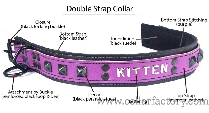 Terminology of a Double Strap collar