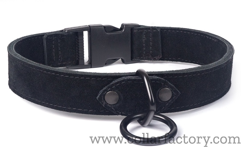 black-collar-with-snap-in closure